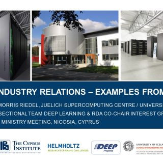 SIMDAS Industry Relations Examples From Juelich