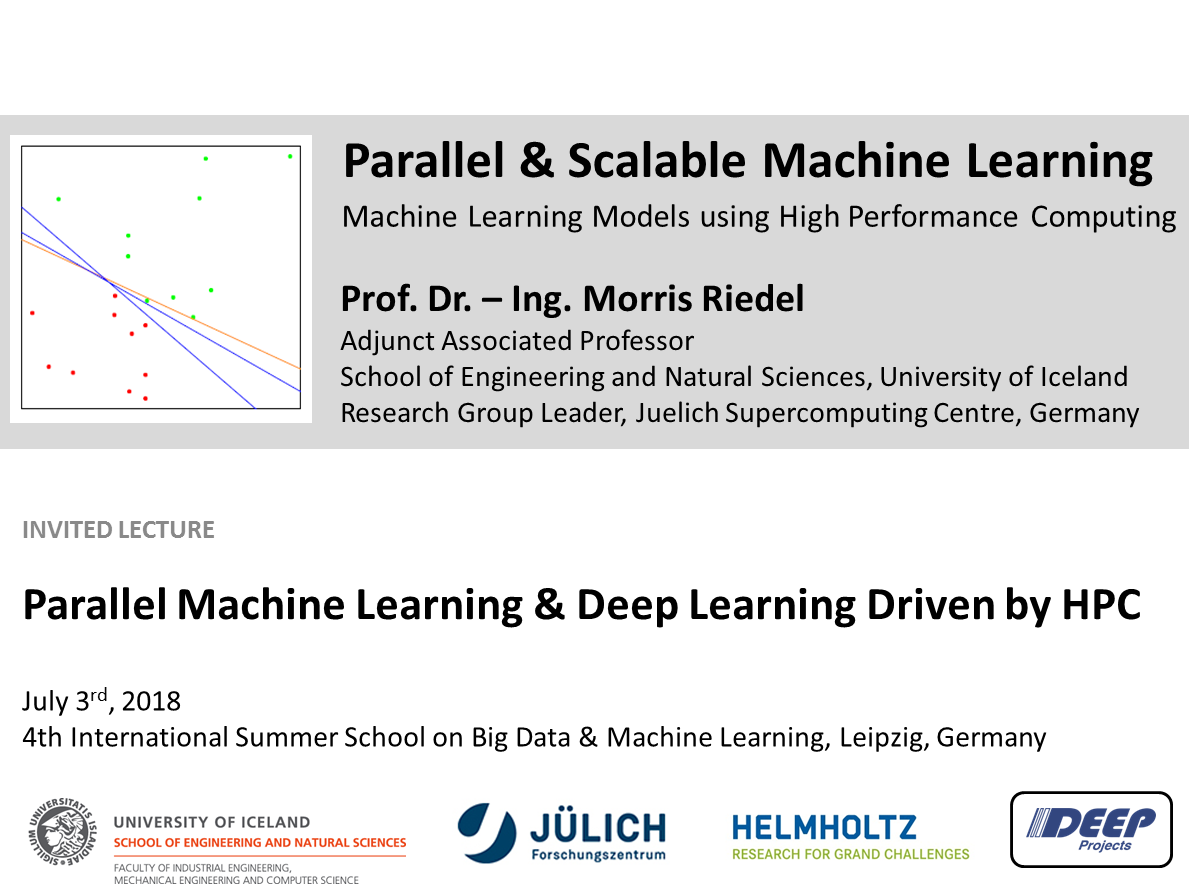Parallel Machine Learning and Deep Learning driven by HPC
