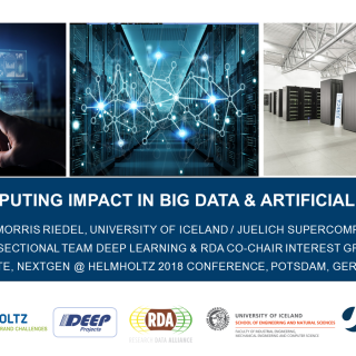 Supercomputing Impact In Big Data and Artificial Intelligence Morris Riedel