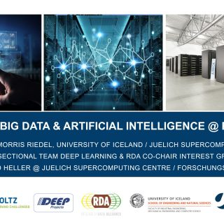 Big Data and AI FZJ JSC Visit Dr Edmund Heller Morris Riedel