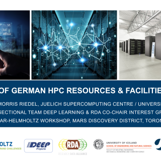 2019-01-16 Overview German HPC Resources and Facilities Helmholtz Morris Riedel