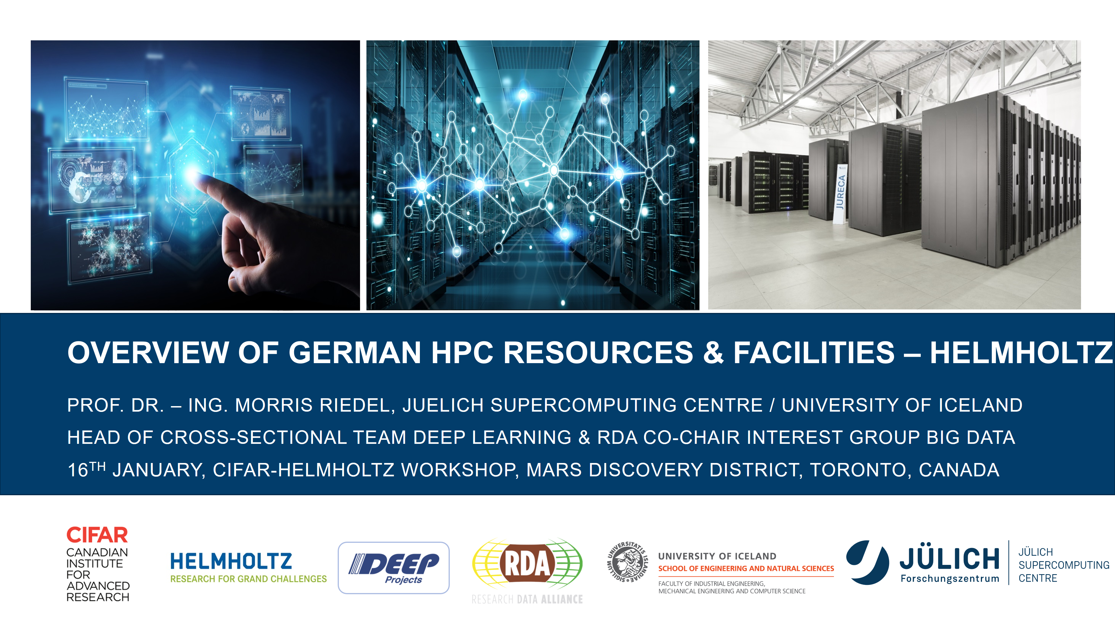 Overview of German HPC Resources and Facilities - Helmholtz