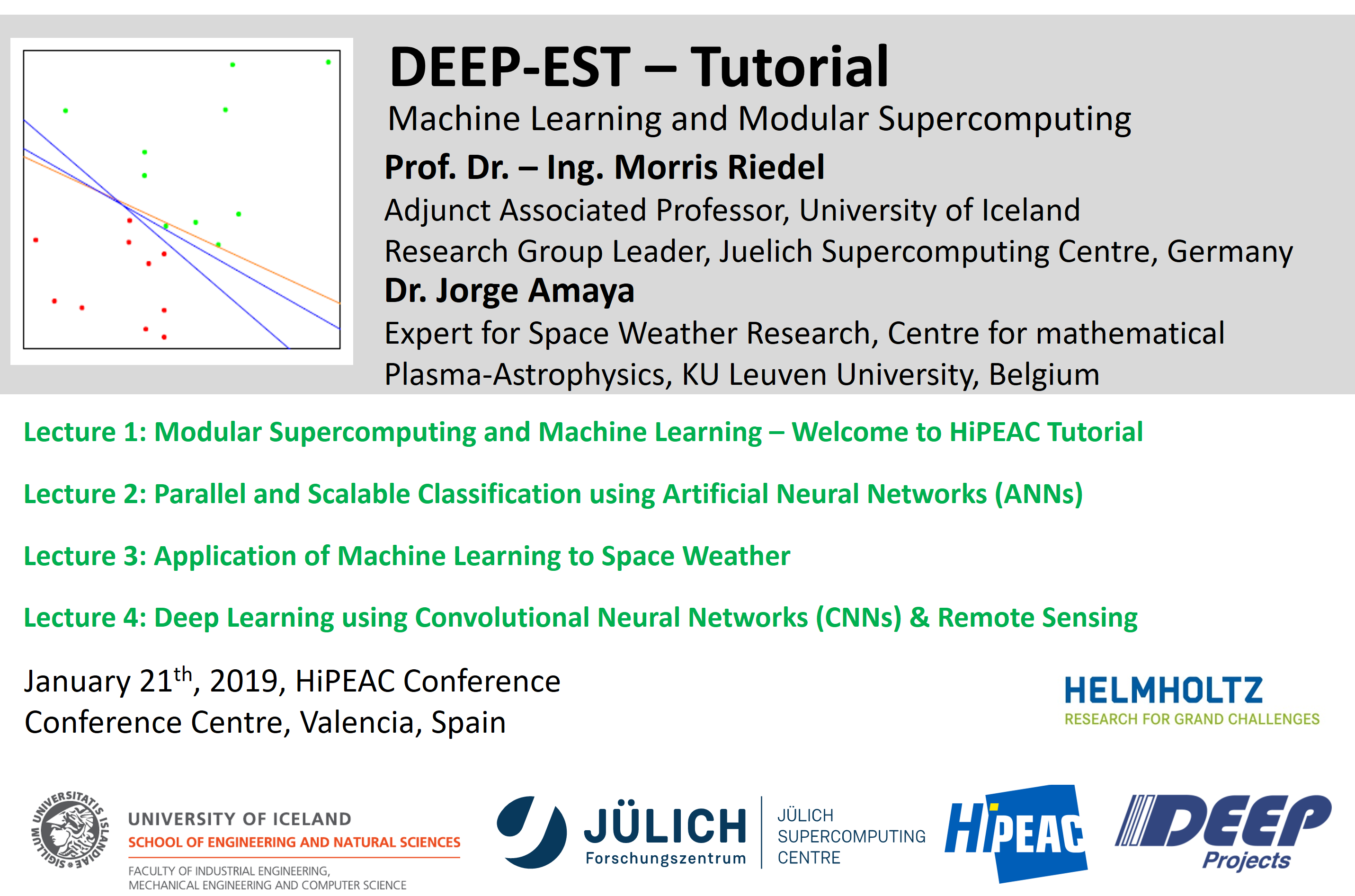 DEEP-EST Tutorial - Machine Learning and Modular Supercomputing
