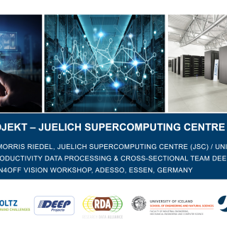 2019-02-15 ON4OFF Projekt Juelich Supercomputing Centre Rolle und Ziele Morris Riedel