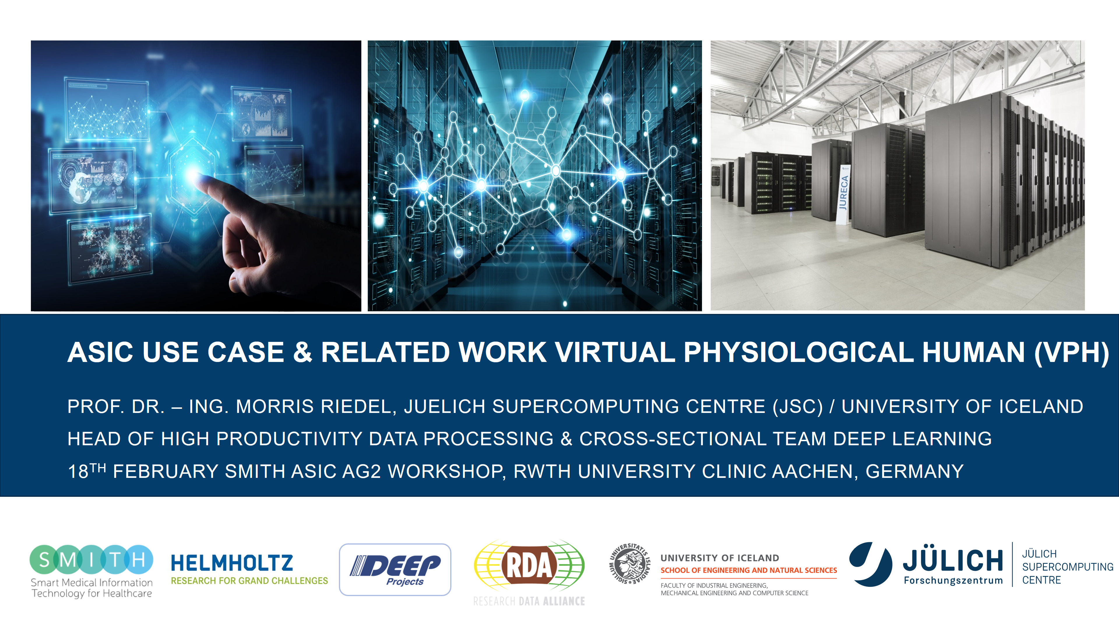 SMITH ASIC Use Case and Related Work Virtual Physiological Human