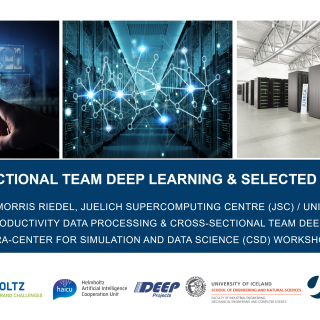 2019-04-11 JARA-CSD CST Deep Learning Selected Applications Morris Riedel
