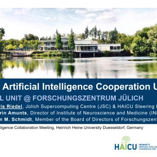 2019-06-19 Helmholtz Artificial Intelligence Cooperation Unit HAICU Morris Riedel