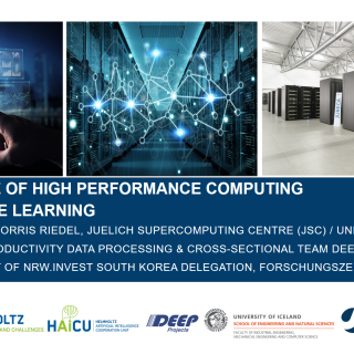 2019-08-19 Importance of High Performance Computing for Machine Learning Morris Riedel