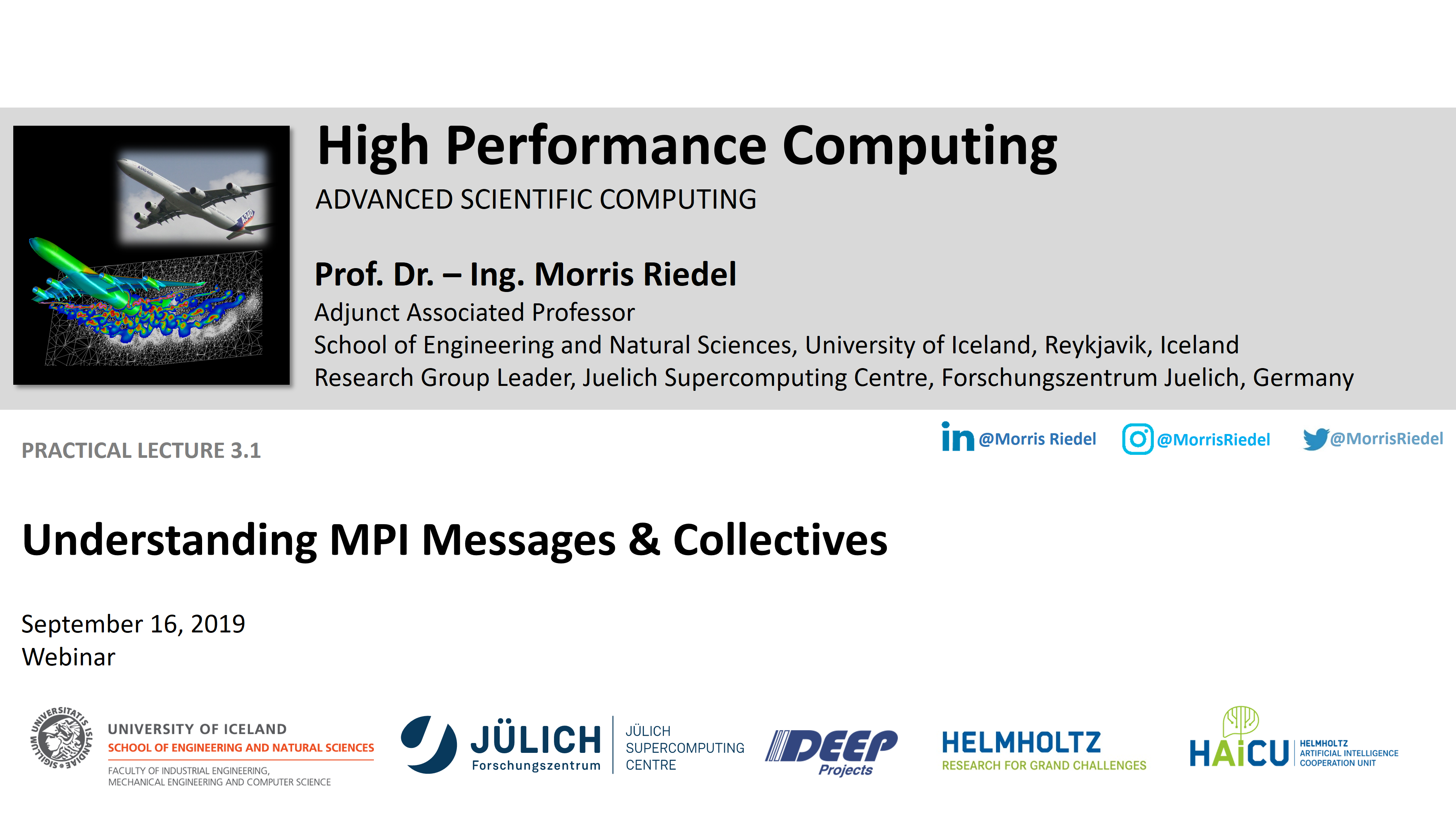HPC - Understanding MPI Messages and Collectives