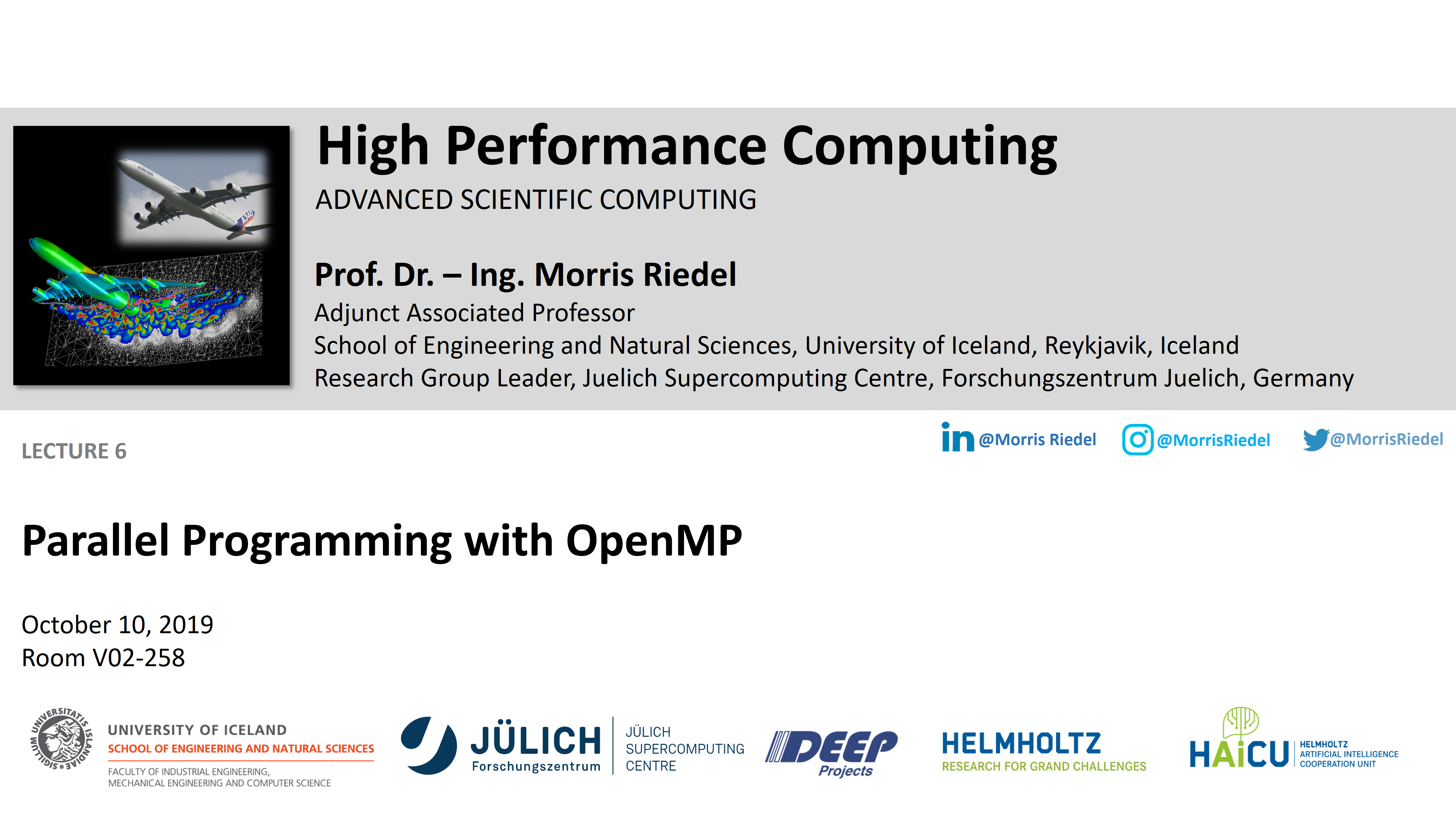 HPC - Parallel Programming with OpenMP