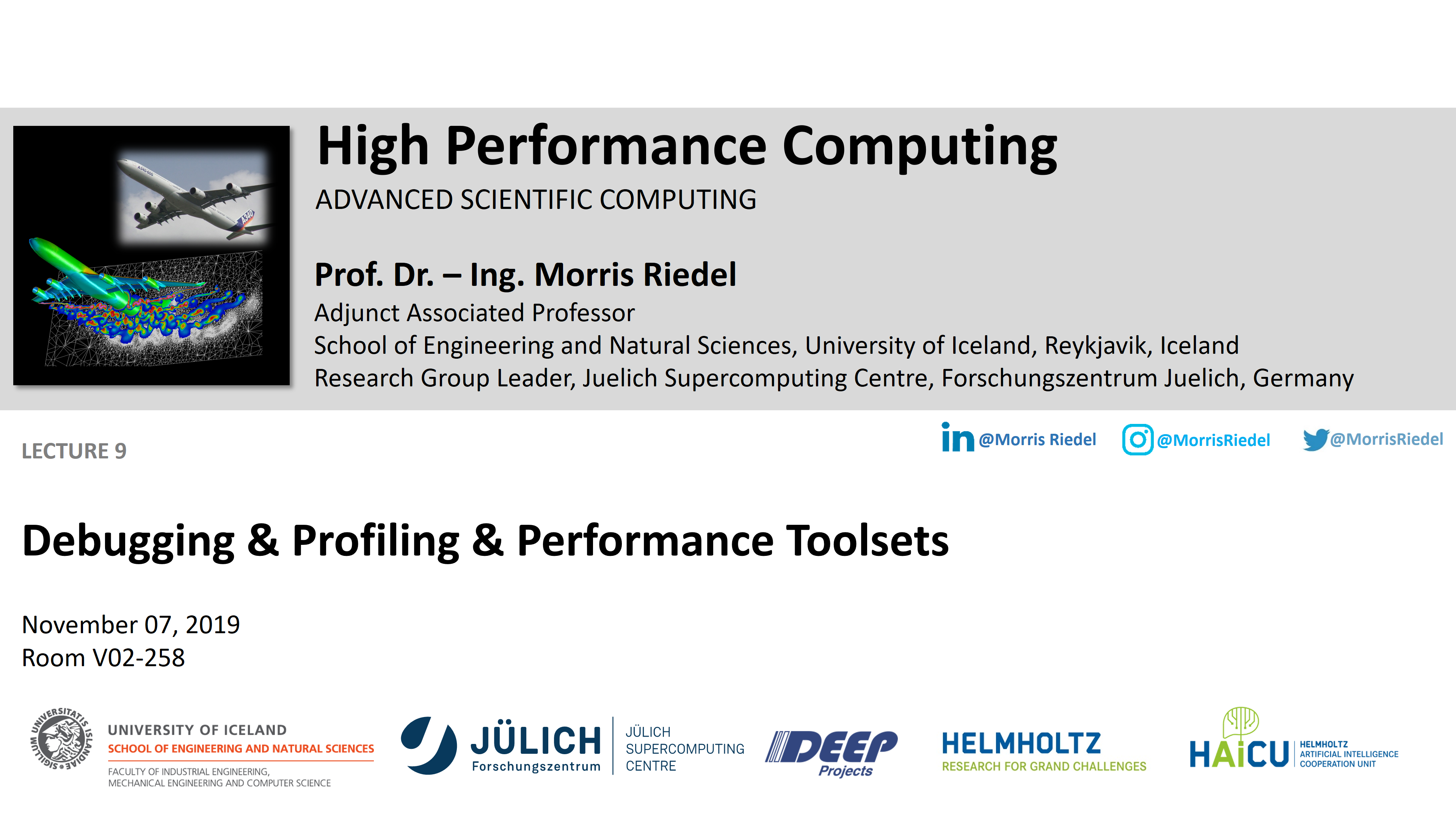 HPC - Debugging and Profiling and Performance Toolsets