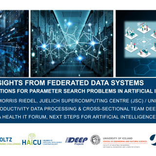 2019-11-20 MHIF Big Data Insights From Federated Data Systems Morris Riedel