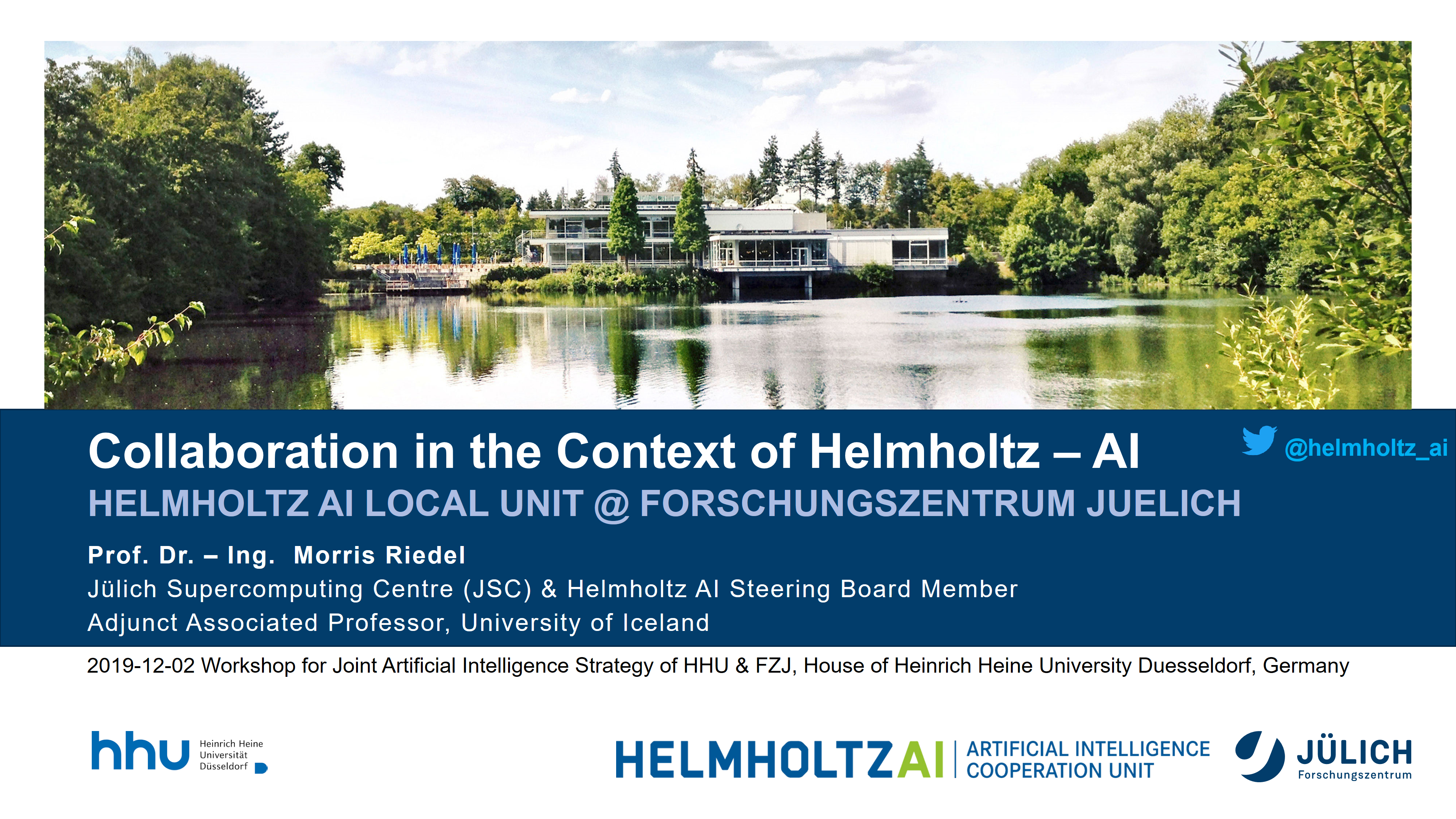 Collaboration in the Context of Helmholtz Artificial Intelligence