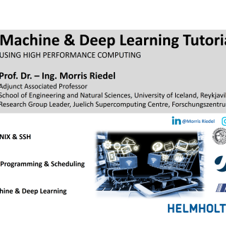 2019-12-05 Machine and Deep Learning Tutorial Content