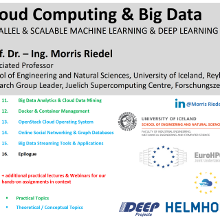 2020 Cloud Computing and Big Data Course Outline