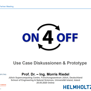 2020-05-25 ON4OFF Use Case Diskussionen und Prototype Morris Riedel
