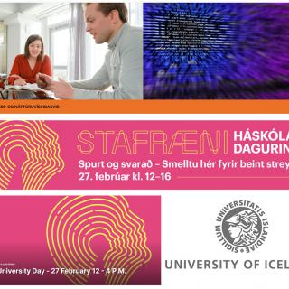 2021-02-27 Haskoladagurinn Digital University Day University of Iceland