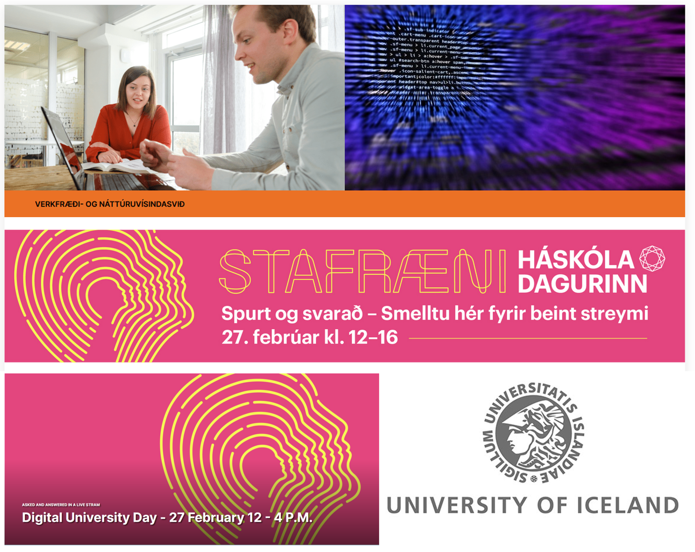 Morris Riedel 2021 Digital University Day Haskoladagurinn University of Iceland